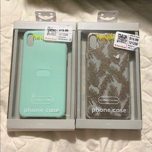 2 iPhone XS Max cases